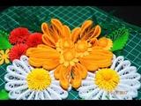 Квиллинг большой красивый цветок Quilling big beutiful flower