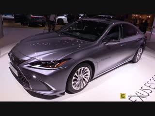 2019 Lexus ES300h - Exterior and Interior Walkaround - Debut at 2018 Paris Motor Show