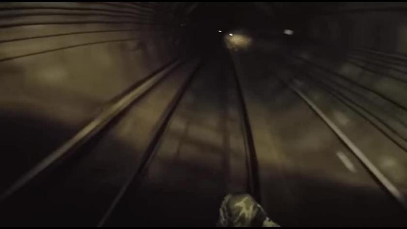 Сломанный воздух Платформы на восток