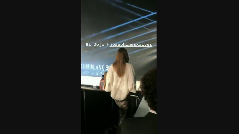 Жозефин на показе «Le lis blanc», Сан-Паулу — 18 октября