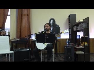 Сергей Анохин в Антикафе Хроники/ Волшебник Изумрудного города