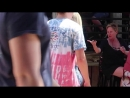 Body Painted Waitress PRANK