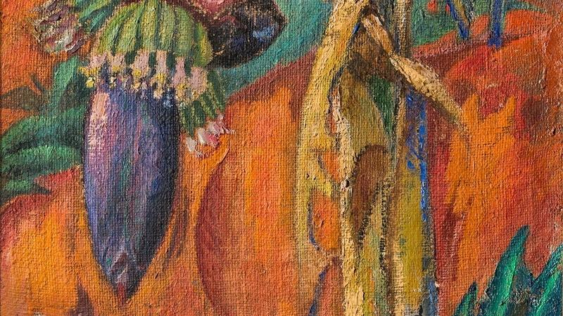 Давид Бурлюк. Слово мне! Цветок бананового дерева. 1921