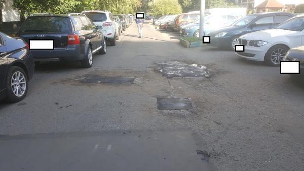 Асфальт отремонтировали на участке Алтушки по просьбе жителя Лианозова
