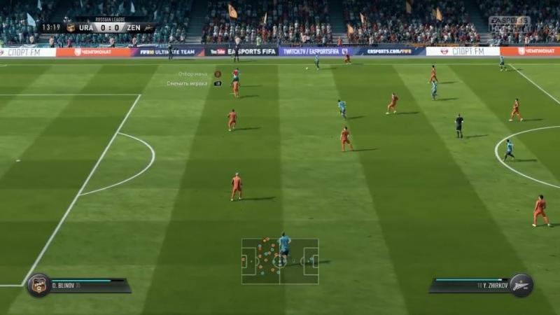 Моя команда в FIFA 18 2 (Первые голы)