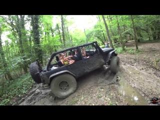 [OffroadSPB] Offroad в Сочи. Jeep Wrangler Rubicon, Уаз
