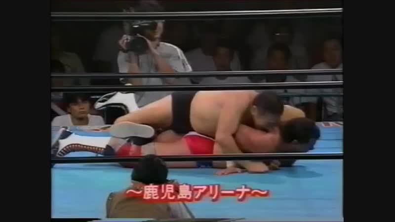 1994.07.12 - Masanobu Fuchi [c] vs. Dan Kroffat [JIP]