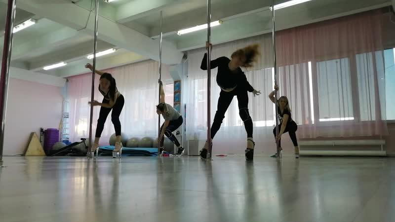❣️Exotic Pole Dance❣️ choreo by Виктория Цыбульская.