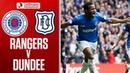 Rangers 4 0 Dundee Rangers hit Dee for four Ladbrokes Premiership