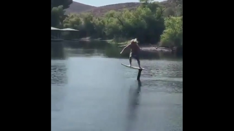 Water jumped