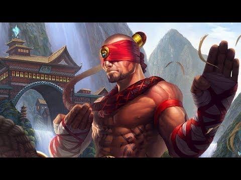 Lee sin / League of Legends / тащим в 3 на 3 в паре с Пайком