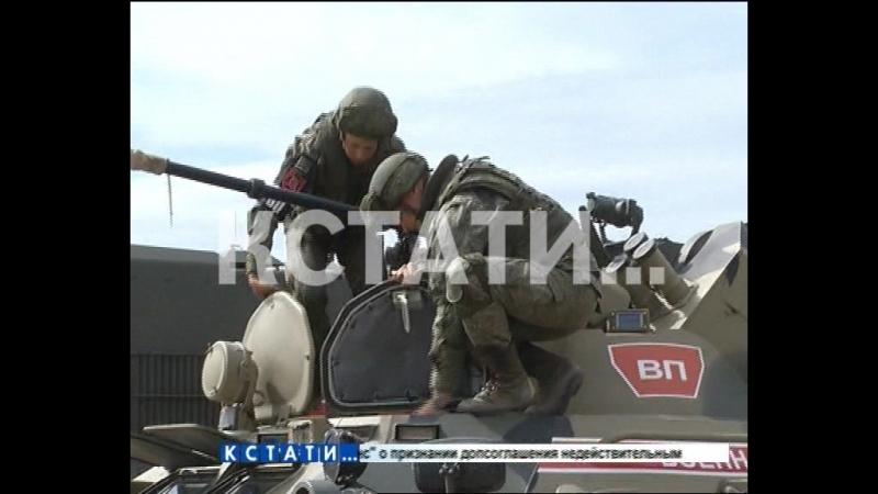 Военная полиция со всей России собралась в Мулино там проходят масштабные учения
