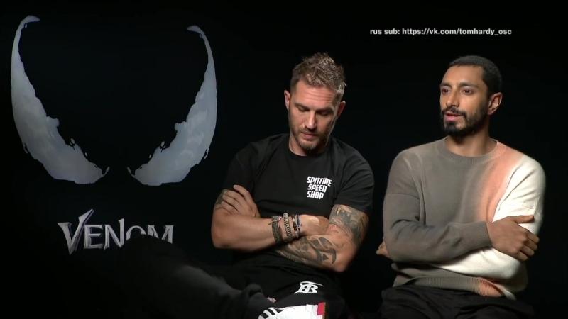 Том Харди и Риз Ахмед для ODE Entertainment (русские субтитры)
