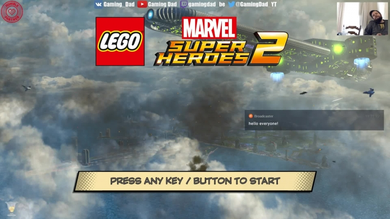 LEGO Marvel Super Heroes 2 with my son 8