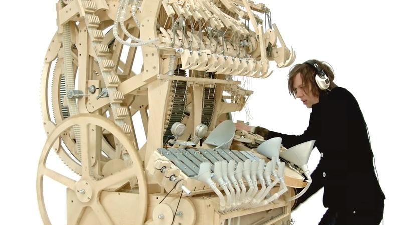 Wintergatan - Marble Machine (music instrument using 2000 marbles)