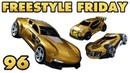 3 NEW HOTWHEELS CARS - Freestyle Friday 96 - Rocket League