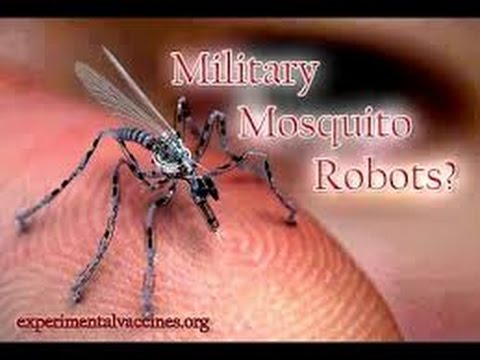 MOSQUITO DRONE IN U. S. CAN TAKE YOUR DNA AND APPLY RFID CHIP