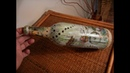 How to Upcycle/Decoupage Glass Bottle - DIY -- 3