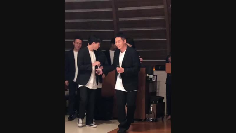 Vid of Loco and his crew performing their Korean Wedding Song for Joony and his bride 2