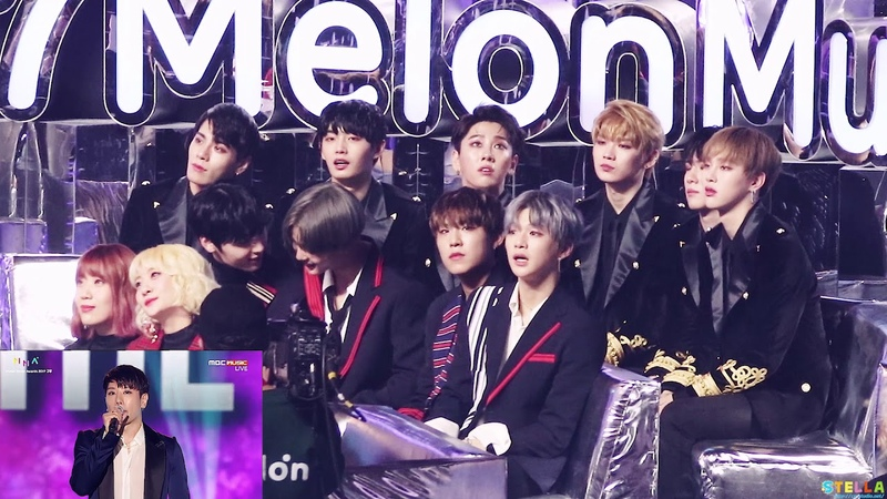 171202 Wanna One(워너원) JBJ(제이비제이) Reaction(27분) - TOP 10 박효신 KNOCK KNOCK LIKEY EXO / MMA