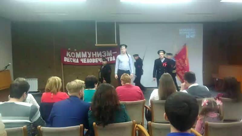 🎤Музыкально поэтический вечер посвященный 101 й годовщине Великой Октябрьской соц ой революции