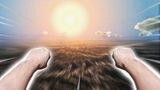 FLYING AROUND THE EARTH AT LIGHT SPEED - MEGATON RAINFALL VR #1