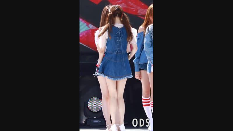 170916 meow meow seunghee fancam