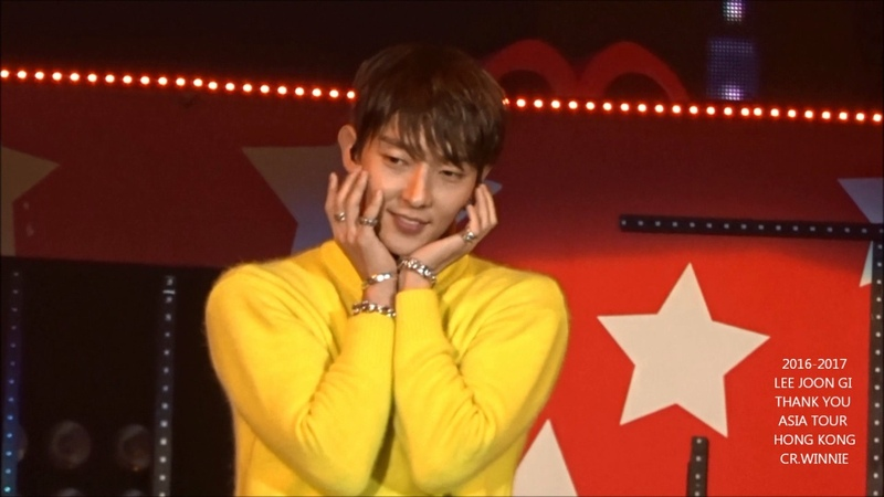 HD イジュンギ LEE JOON GI 李準基 TWICE TT DANCE COVER CUTE VER IN HK FM