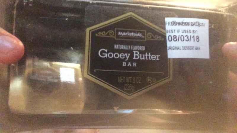 Food Review 4 Marketside Gooey Butter Bar