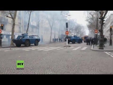 LIVE Protest der Gelbwesten in Paris geht weiter – Kamera 2 | Fortsetzung