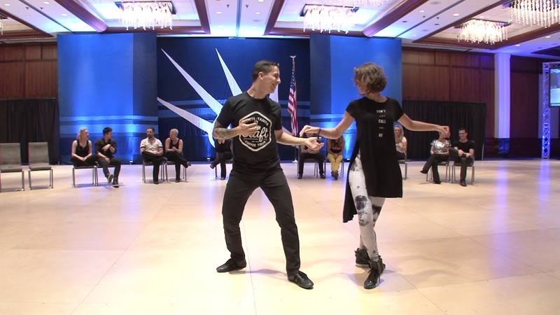 Liberty Swing 2018 Champion Strictly Swing Finals Hugo Miguez Emeline Rochefeuille