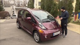 Test Drive Mitsubishi i-Miev бюджетный электромобиль для города