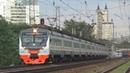 Электропоезд ЭД4М 0458 ЦППК сообщением Москва Белорусская Голицыно