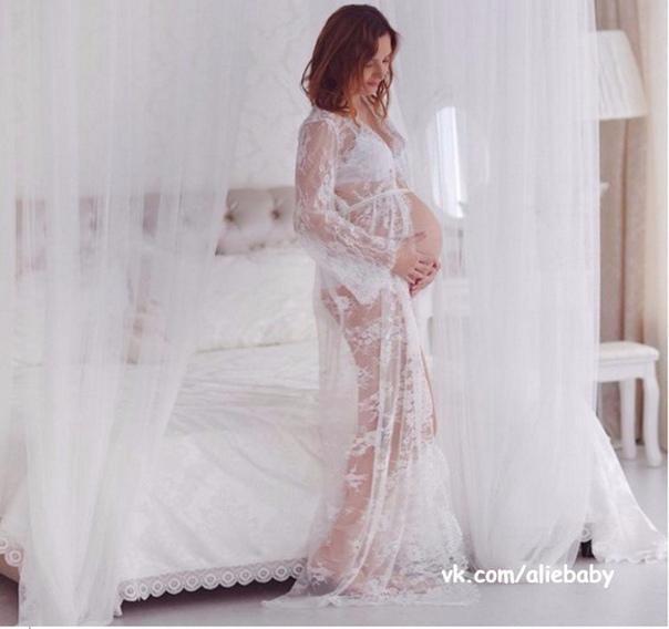 ❗СЕГОДНЯ РАСПРОДАЖА🔥🔥🔥. Домашнее платье для будущих мам всего за 730 руб! Успей…