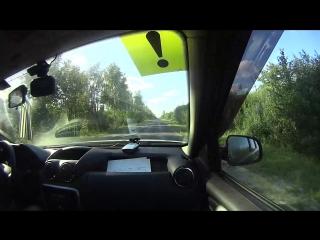 КВМ город Пенза Автоинструктор Осокин Денис 2018 Разворот на трассе