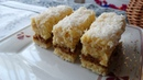 Польский торт Рафаэлло с печеньем пудингово заварным кремом кокосовой стружкой без выпечки Raffaello z adwokatem