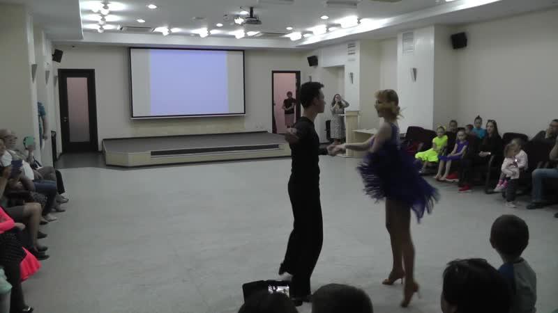 Asta-Dance 2019 май Самба Кирилл Т. и Екатерина Г.