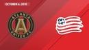 HIGHLIGHTS: Atlanta United FC vs. New England Revolution | October 6, 2018