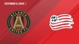 HIGHLIGHTS Atlanta United FC vs. New England Revolution October 6, 2018