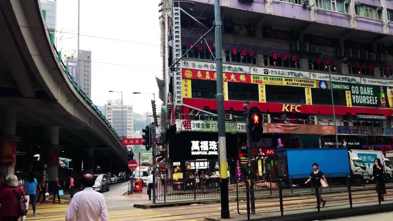 Anastasia in Asia Vlog1: Hong Kong Magic City