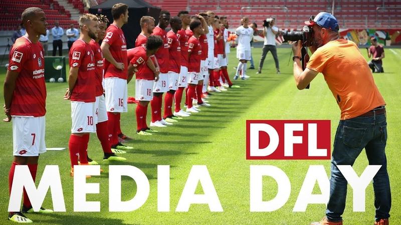 Best of Media Day 2018 Impressionen DFL