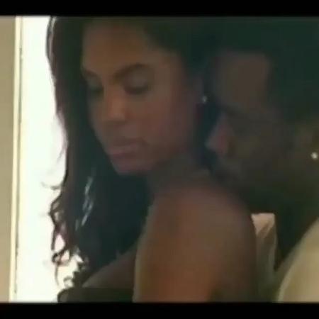 Совместная фотосессия 2006-го года P.Diddy и Kim Porter для Essence magazine