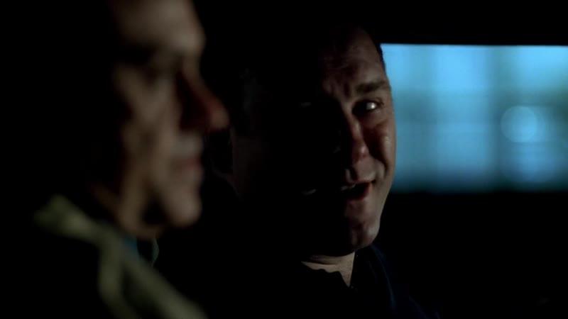 (Клан Сопрано S04E12_18) Джонни Сэк намекнул на смещение Кармайна