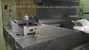 Испытание штампа для п образной гибки полки стеллажа