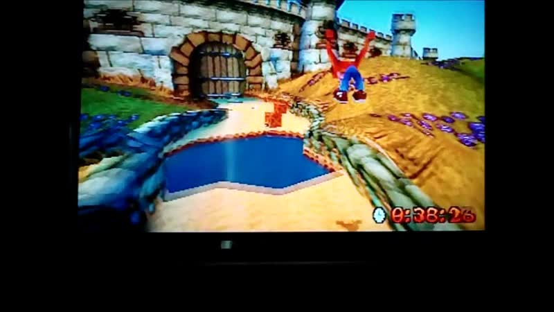 Crash Bandicoot 3 Warped (NTSC-J).Time Trial.Toad Village.4126.Хорошо.Из старых файлов
