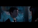 Поцелуй Гарри и Чжоу Чанг - Гарри Поттер и Орден Феникса (2007) - Момент из фильма
