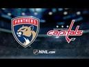 Florida Panthers vs Washington Capitals – Oct.19, 2018