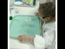 Сегодня мы провели пробное занятие для наших юных 👩🔬 химиков! Обожаем видеть восторг на этих милых личиках 😍😍, когда они сами к