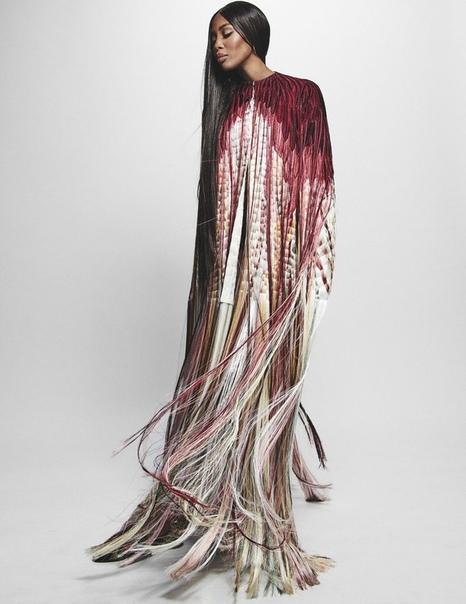 Naomi Campbell Vogue Arabia, November 2018