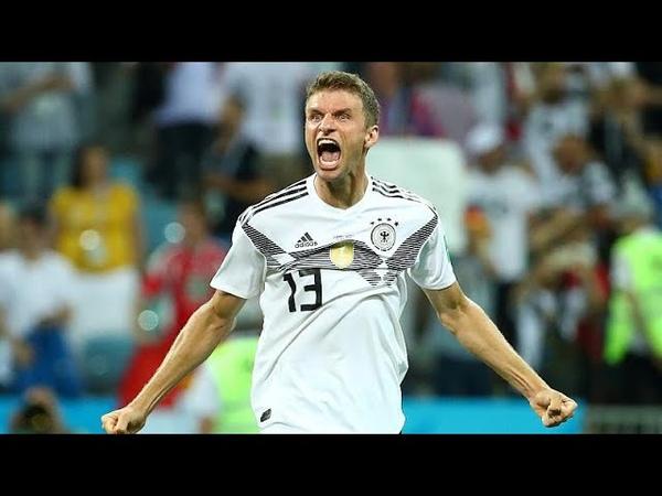 Германия одержала победу над шведами в труднейшем матче…